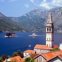 В черногории и путешествие в будапешт